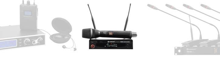 Drahtlose Mikrofonanlagen