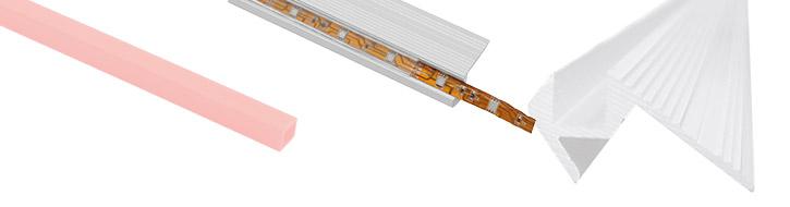 Zubehör für Strips & Tube lights
