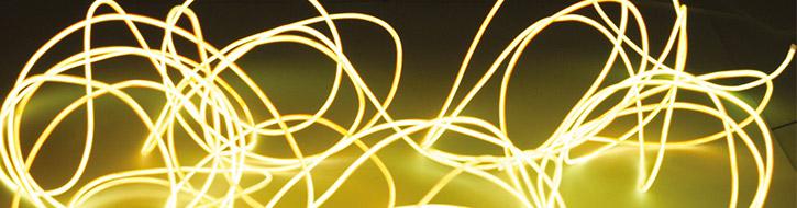 Leuchtschnüre